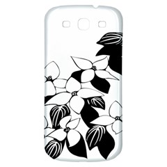 Ecological Floral Flowers Leaf Samsung Galaxy S3 S Iii Classic Hardshell Back Case by Nexatart