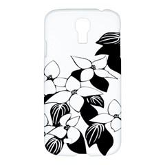 Ecological Floral Flowers Leaf Samsung Galaxy S4 I9500/i9505 Hardshell Case by Nexatart