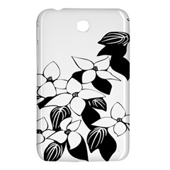 Ecological Floral Flowers Leaf Samsung Galaxy Tab 3 (7 ) P3200 Hardshell Case  by Nexatart