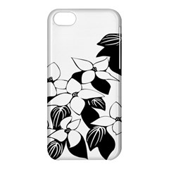 Ecological Floral Flowers Leaf Apple Iphone 5c Hardshell Case by Nexatart