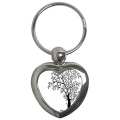 Flowers Landscape Nature Plant Key Chains (heart)  by Nexatart