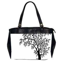 Flowers Landscape Nature Plant Office Handbags (2 Sides)  by Nexatart