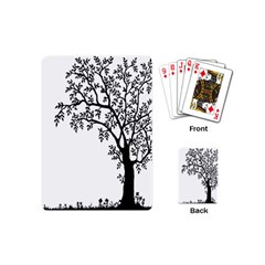 Flowers Landscape Nature Plant Playing Cards (mini)  by Nexatart