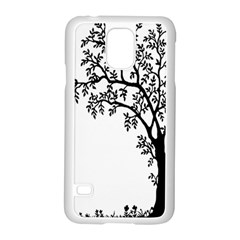 Flowers Landscape Nature Plant Samsung Galaxy S5 Case (white) by Nexatart