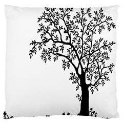 Flowers Landscape Nature Plant Large Flano Cushion Case (two Sides) by Nexatart