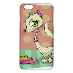 Cat Food Eating Breakfast Gourmet Iphone 6 Plus/6s Plus Tpu Case by Nexatart