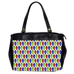 Colorful Shiny Eat Edible Food Office Handbags (2 Sides)  by Nexatart
