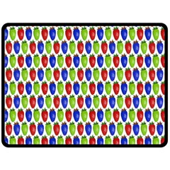 Colorful Shiny Eat Edible Food Double Sided Fleece Blanket (large)  by Nexatart