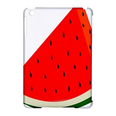 Fruit Harvest Slice Summer Apple Ipad Mini Hardshell Case (compatible With Smart Cover) by Nexatart