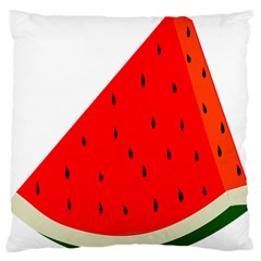 Fruit Harvest Slice Summer Large Flano Cushion Case (two Sides) by Nexatart