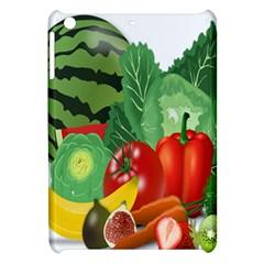 Fruits Vegetables Artichoke Banana Apple Ipad Mini Hardshell Case by Nexatart