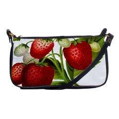 Food Fruit Leaf Leafy Leaves Shoulder Clutch Bags by Nexatart