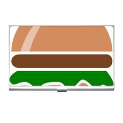 Hamburger Fast Food A Sandwich Business Card Holders by Nexatart