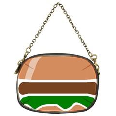 Hamburger Fast Food A Sandwich Chain Purses (one Side)