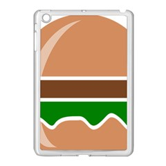 Hamburger Fast Food A Sandwich Apple Ipad Mini Case (white) by Nexatart