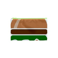 Hamburger Fast Food A Sandwich Cosmetic Bag (xs) by Nexatart