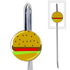 Hamburger Food Fast Food Burger Book Mark by Nexatart