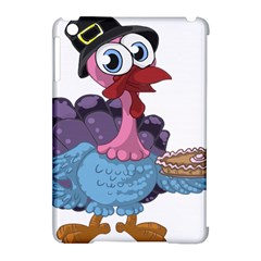 Turkey Animal Pie Tongue Feathers Apple Ipad Mini Hardshell Case (compatible With Smart Cover) by Nexatart