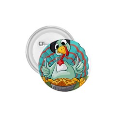 Pie Turkey Eating Fork Knife Hat 1 75  Buttons by Nexatart
