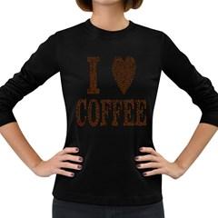 Love Heart Romance Passion Women s Long Sleeve Dark T Shirts by Nexatart
