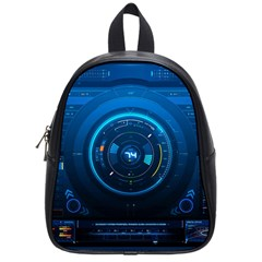 Technology Dashboard School Bags (small)  by BangZart