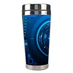 Technology Dashboard Stainless Steel Travel Tumblers by BangZart