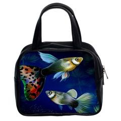 Marine Fishes Classic Handbags (2 Sides) by BangZart