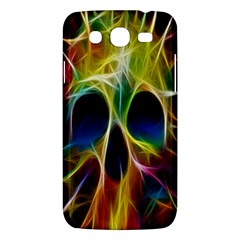 Skulls Multicolor Fractalius Colors Colorful Samsung Galaxy Mega 5 8 I9152 Hardshell Case