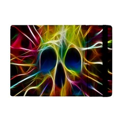 Skulls Multicolor Fractalius Colors Colorful Ipad Mini 2 Flip Cases by BangZart