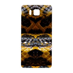Textures Snake Skin Patterns Samsung Galaxy Alpha Hardshell Back Case by BangZart