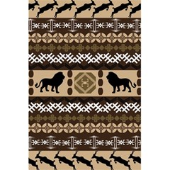 Lion African Vector Pattern 5 5  X 8 5  Notebooks by BangZart