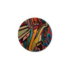 Vivid Colours Golf Ball Marker by BangZart