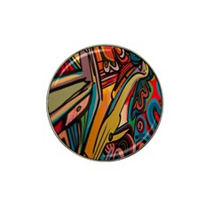 Vivid Colours Hat Clip Ball Marker (4 Pack) by BangZart