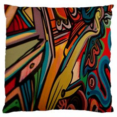 Vivid Colours Standard Flano Cushion Case (two Sides) by BangZart