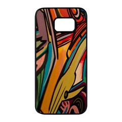 Vivid Colours Samsung Galaxy S7 Edge Black Seamless Case