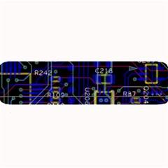 Technology Circuit Board Layout Large Bar Mats by BangZart