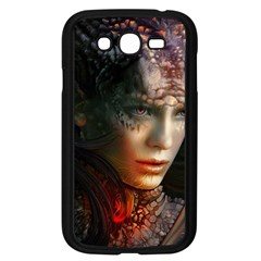 Digital Fantasy Girl Art Samsung Galaxy Grand Duos I9082 Case (black) by BangZart