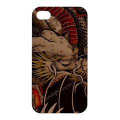 Chinese Dragon Apple Iphone 4/4s Premium Hardshell Case by BangZart