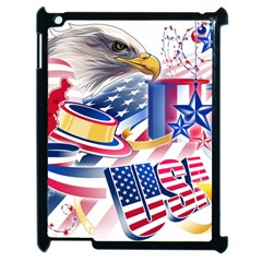 United States Of America Usa  Images Independence Day Apple Ipad 2 Case (black) by BangZart