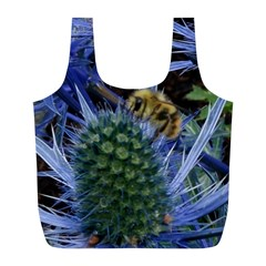 Chihuly Garden Bumble Full Print Recycle Bags (l)  by BangZart