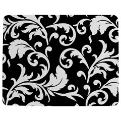 Vector Classicaltr Aditional Black And White Floral Patterns Jigsaw Puzzle Photo Stand (rectangular) by BangZart