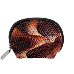 Snake Python Skin Pattern Accessory Pouches (small)  by BangZart