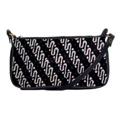 Batik Jarik Parang Shoulder Clutch Bags by BangZart