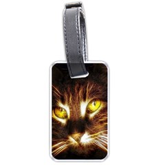 Cat Face Luggage Tags (two Sides) by BangZart