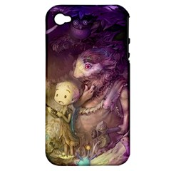 Cartoons Video Games Multicolor Apple Iphone 4/4s Hardshell Case (pc+silicone) by BangZart