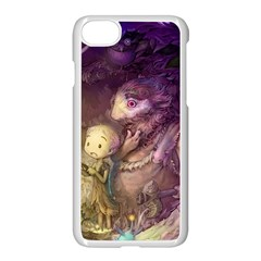 Cartoons Video Games Multicolor Apple Iphone 7 Seamless Case (white) by BangZart