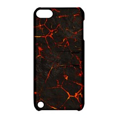 Volcanic Textures Apple Ipod Touch 5 Hardshell Case With Stand
