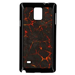 Volcanic Textures Samsung Galaxy Note 4 Case (black) by BangZart