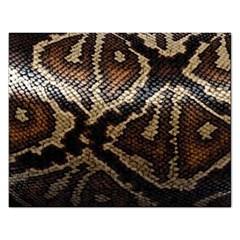 Snake Skin Olay Rectangular Jigsaw Puzzl by BangZart