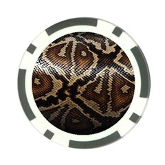 Snake Skin Olay Poker Chip Card Guard (10 Pack) by BangZart